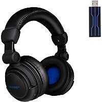 HUHD HUHD-933U Wireless Gaming Headset, le Cuffie da Gioco Senza Fili, Cuffie Gaming con 4D vibrazione dell'altoparlante…