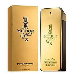 Paco Rabanne One Million Homme / men, Eau de Toilette, Natural Spray, 1er Pack (1 x 200 ml)