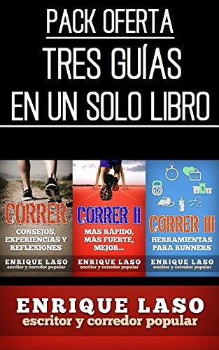 CORRER: Pack tres guías en UNA por Enrique Laso