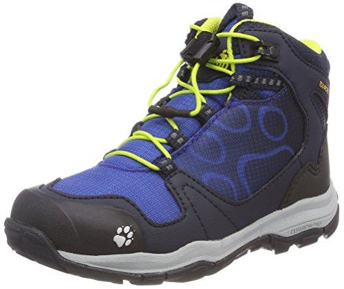 Jack Wolfskin AKKA Texapore Mid B Wasserdicht, Jungen Trekking- & Wanderstiefel, Blau (Vibrant Blue), 38 EU (5 UK)