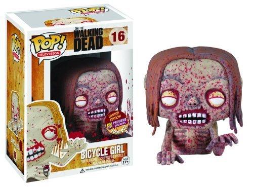 Px Pop Walking Dead Bicycle Girl Zombie Vinyl Figure by Walking Dead