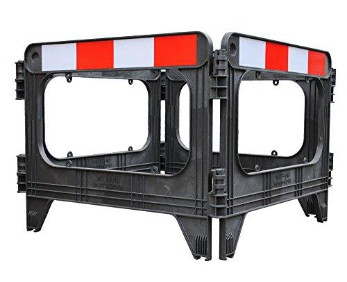UvV-Reflex-uvms9120Alloggiamento griglia di protezione alloggiamento absperrung rosso/bianco,