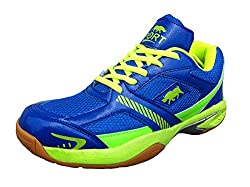 Port BULLFORCE 113 Blue Basketball Shoes(6 Ind/Uk)