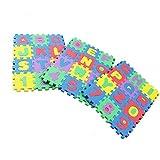 36 STÜCKE Kinder Puzzle Matte Digital Brief Schaum Pad Baby Krabbeln Matte Gamepad Wasserdicht Und Schmutzig