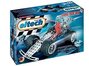 Eitech 00092 Coche de carreras - Juego de construcción de metal (180 piezas) importado de Alemania
