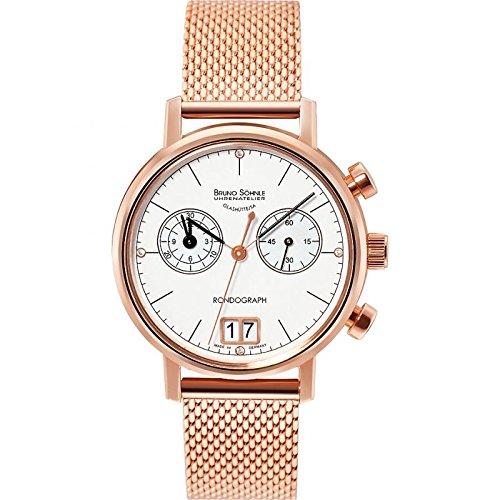 Bruno Söhnle Glashütte Mujer Reloj Rondo Graph Lady Rosé 17–13176–841