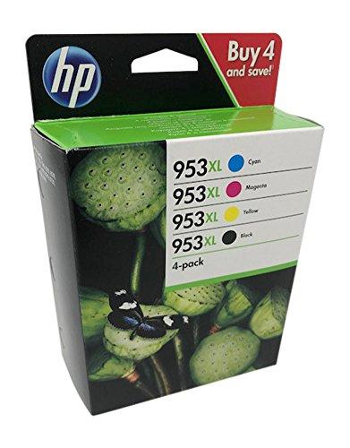 HP 953XL Schwarz/Cyan/Magenta/Gelb Original Druckerpatronen für HP Officejet Pro 7720 7730 7740 8710 8715 8718 8719 8720 8725 8730 8740