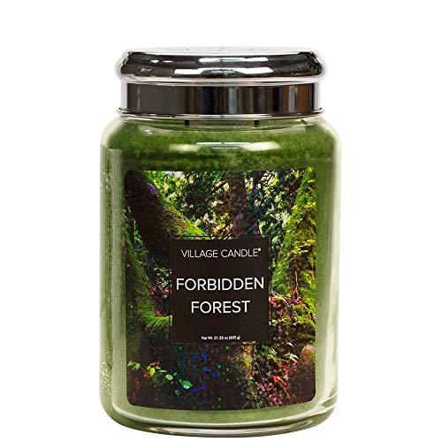 Village Candle Fantasy Jar Large 626 g Forbidden Forest Fantasia-kollektion