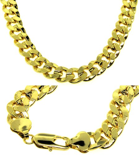 collier homme or 24 carats
