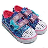 tinkle Toes by Sketchers Twinkle Toes Chit Chat Lil chatty Sneakers 23 Blue/Multi