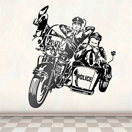 Wandaufkleber Kinderzimmer wandaufkleber 3d Bud Spencer und Terence Hill Police 2 für Wohnzimmer Schlafzimmer Jungen Schlafzimmer