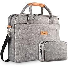 Hombres y Mujeres 13-13.3 Pulgadas Bolsa de ordenador portátil Mensajero Viajes de Negocios Tableta del Bandolera maletín hombro para Chromebook / Macbook / ultrabook etc