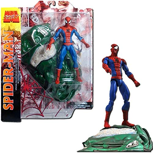 Diamond Marvel Select - Action figure (17 cm, special edition for collectors), design by Spider Man