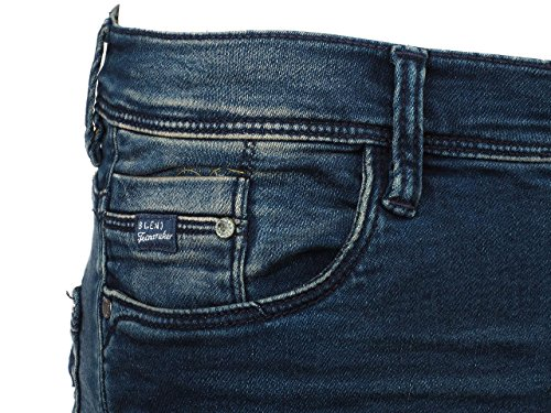 Blend - Jogg 32 denim dark blue - Pantalon jeans slim Bleu marine / bleu nuit