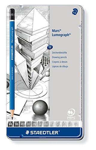 staedtler-100-g12-zeichenbleistift-mars-lumograph-sechskantform-unglaublich-bruchfeste-premium-bleis
