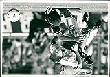 Vintage photo of Bryan Robson