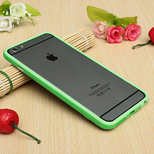 Best Style Iphone 6 Plus Silicon Bumper Green by G4GADGET®