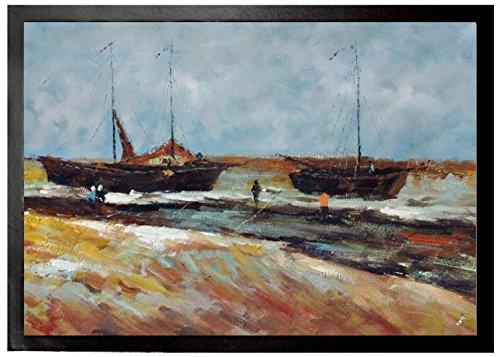 Vincent Van Gogh - Playa En Scheveningen En Tiempo De Calma, 1882 Felp