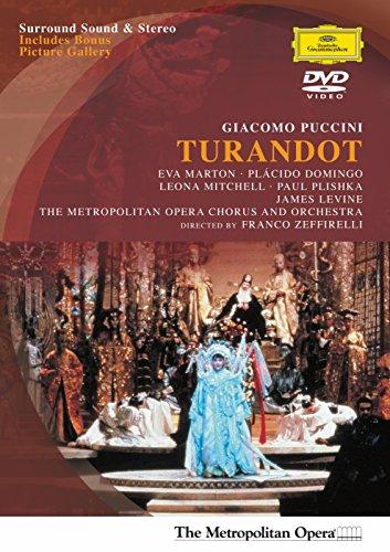 Puccini - Turandot / Franco Zeffirelli - Marton, Domingo, Mitchell, Plishka, Cuenod - James Levine, MET (1988) (Ping Film)