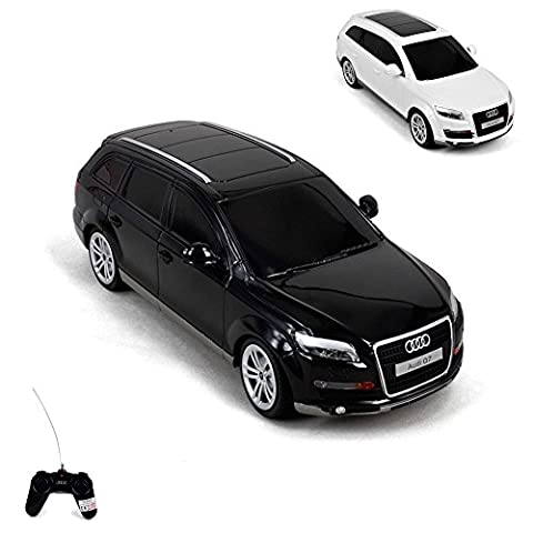 AUDI Q7 - RC ferngesteuertes Lizenz Modell-Auto, Fahrzeug, Car, Modellbau, Maßstab 1:24, Ready-to-Drive, Auto inkl. Fernsteuerung