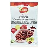 Vivibio Snack Anacardi, Mandorle & Tamari - 45 gr