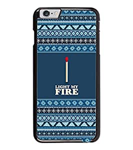 PrintDhaba Quote D-3112 Back Case Cover for APPLE IPHONE 6 (Multi-Coloured)