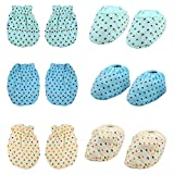 #8: MomToBe Baby Mittens & Booties, Pack of 3