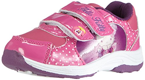 Hello KittyGirls Kids Athletic Sport - Sneaker Ragazza , Multicolore (Mehrfarbig (073 FUXIA/FUXIA)), 30