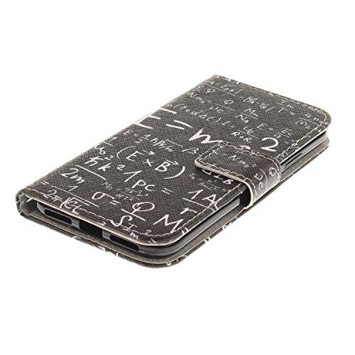 Coque pour iPhone 8, Frlife   Housse en Cuir PU pour iPhone 8 Coque avec Étui en Silicone, Protection Complète pour Votre Téléphone Portable color3