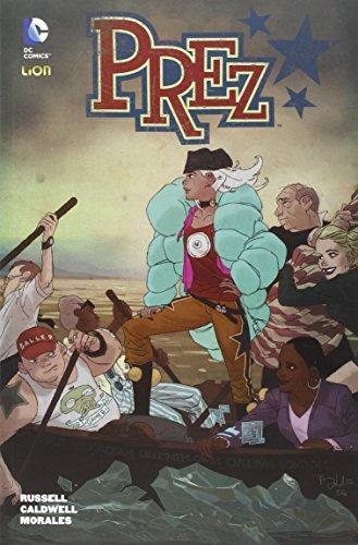 Prez (DC Comics) por Mark Russel