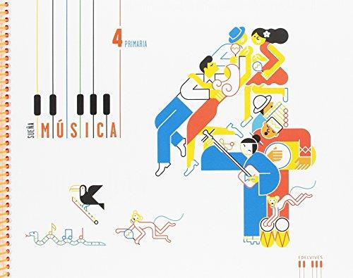 Música 4º Primaria: (Libro + cuaderno) (Sueña música)