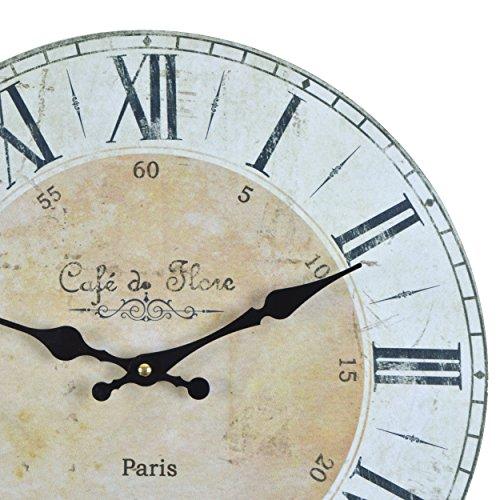 Orologio da muro - Cafe de Flore Paris - Silenzioso orologio da ...