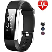 Willful Activity Tracker Sport Bracciale Orologio Fitness Tracker Cardiofrequenzimetro da polso Braccialetto Fitness Smart Watch Uomo Donna Impermeabile IP67 Smartwatch Smartband per Android IOS Nero
