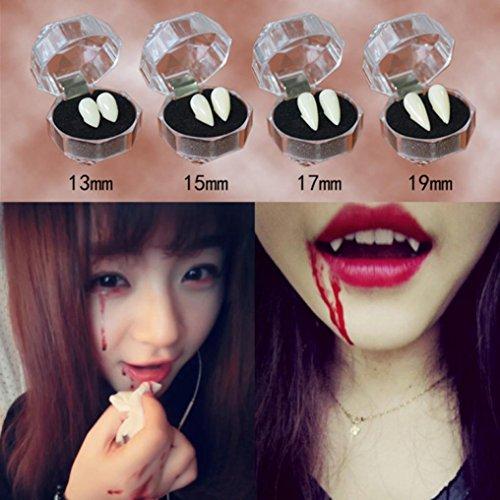 Vovotrade Vampire Dents Halloween Diable Dindons Crochets Caps Zombie Dentures Accessoires Fête (C) 0019985149376