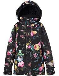 Burton Chaqueta Elodie Girls Jacket Snowboard para niña, otoño/invierno, niña, color Highland Floral, tamaño L