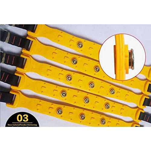 Sedeta-Catena-di-sicurezza-dellautomobile-5PCS-Catene-per-ruote-gommate-fuoristrada-SUV-Safe-Cintura-antiscivolo-Ispessimento-demergenza-per-linverno