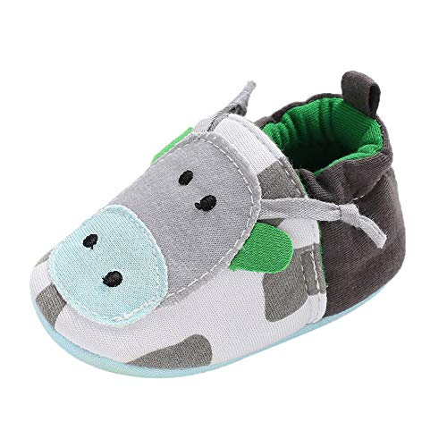 LuckyBB Crib Boots Baby Girl Soft Booties Snow Cartoon Animal Floor Shoes Prewalker Warm Frist Walking Shoes Socks Shoes