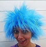 Fancy Dress Bleu perruque Thing 1Thing 2pour chat dans le chapeau pour femme