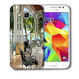 Snoogg Black Chairs Printed Protective Phone Back Case Cover For Samsung Galaxy CORE PRIME