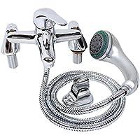 Generic qy-uk4–16feb-20–224* 1* */* * rubinetto bagno miscelatore doccia monocomando vasca da bagno ower mi Testa e tubo flessibile per doccia hower Testa e tubo