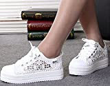 WLIFE Casual Lace Canvas Shoes Summer Women Shoes Hollow...