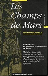 Les Champs de Mars, N° 13 Premier semest : La genèse de la profession de marin