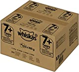 Whiskas Katzenfutter Nassfutter Senior 7+ Gemischte Auswahl in Gelee, 120 Portionsbeutel (120 x 100 g)