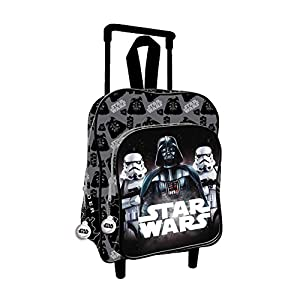 5193D7TyjCL. SS300  - Star Wars 2018 AS076 Mochila Infantil, 35 cm, Multicolor