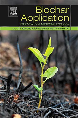 Biochar Application: Essential Soil Microbial Ecology