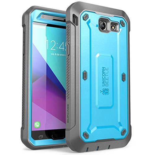 Samsung Galaxy J7Fall, Galaxy Halo 2017Schutzhülle, SUPCASE Unicorn Beetle PRO Series Fullbody integriertem Displayschutz für Galaxy Halo/J72017/J7Sky Pro/J7perx/j7V 2017/J7Prime, blau