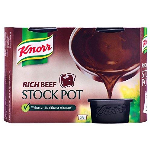 Knorr Riche Bouillon De Boeuf Pot (8X28G)