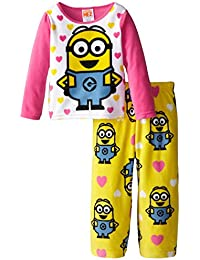 Despicable Me Little Girls acogedor forro polar pijama Set