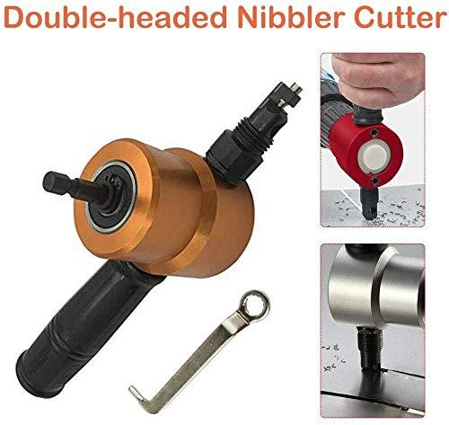 Hoja cabeza doble recortadora chapas cortador metal