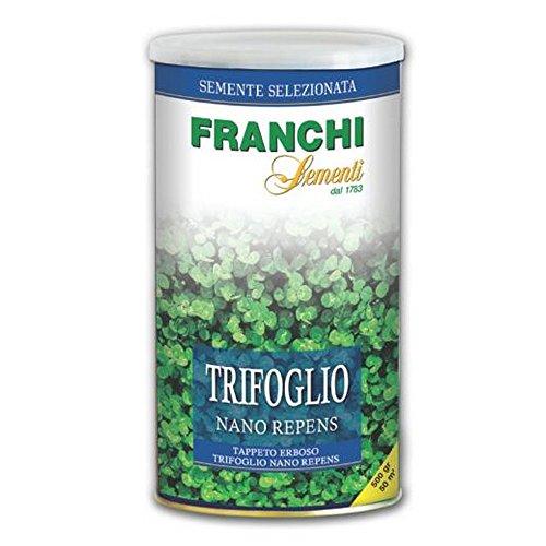FRANCHI SEMENTI Seed Turf trèfle repens jar nano 500 gr Graines de pelouse